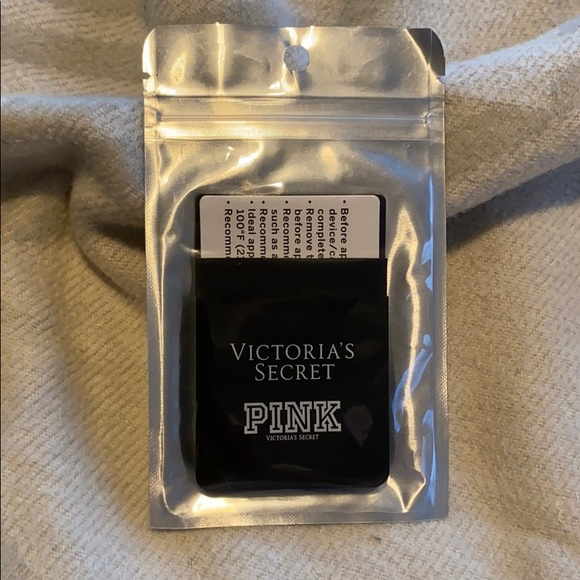 PINK Victoria's Secret Accessories - PINK Stick on Card Slot
